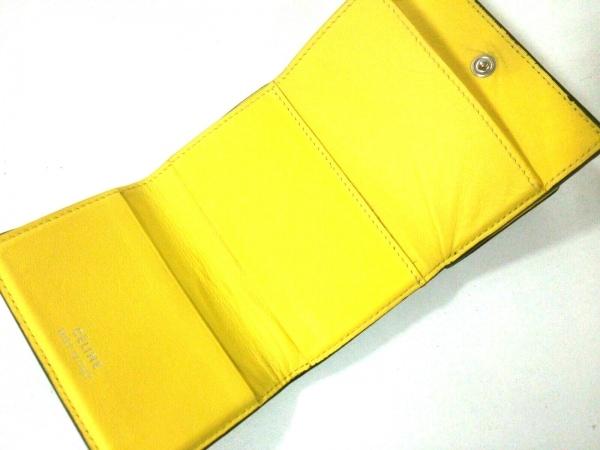CELINE(セリーヌ) 3つ折り財布 - 黒 レザー 3