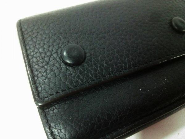 CELINE(セリーヌ) 3つ折り財布 - 黒 レザー 7