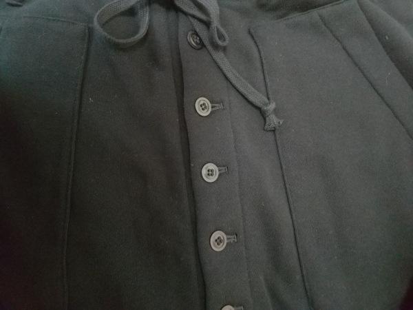 サイト パンツ サイズM メンズ - 黒 フルレングス/変形デザイン 6