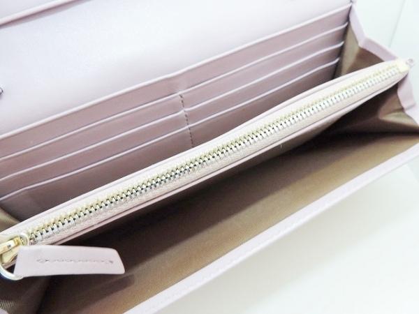 ウォントレスエッセンシャルデラヴィ 財布 - ライトパープル レザー 6