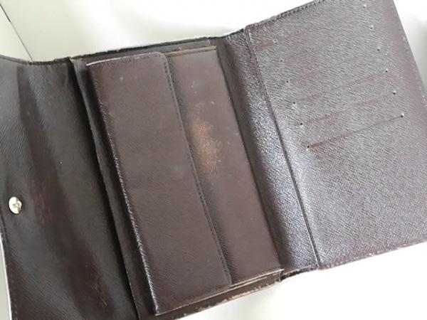 ルイヴィトン 3つ折り財布 ダミエ ポルト トレゾー・エテュイ パピエ 3