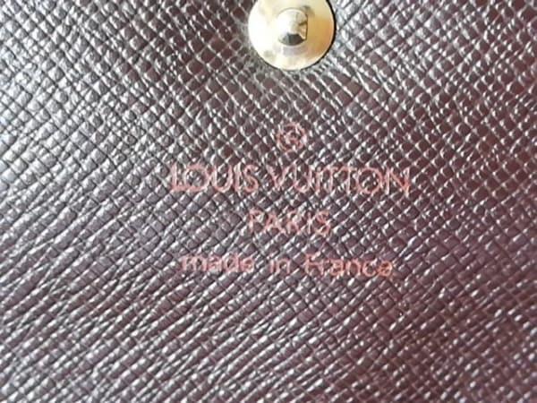 ルイヴィトン 3つ折り財布 ダミエ ポルト トレゾー・エテュイ パピエ 5