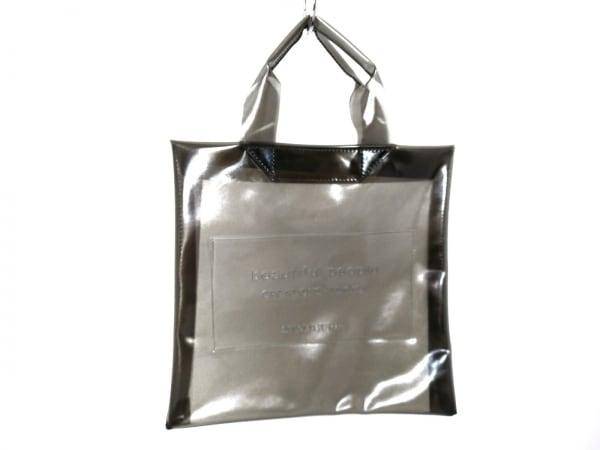 ビューティフルピープル トートバッグ - カーキ ビニール 1