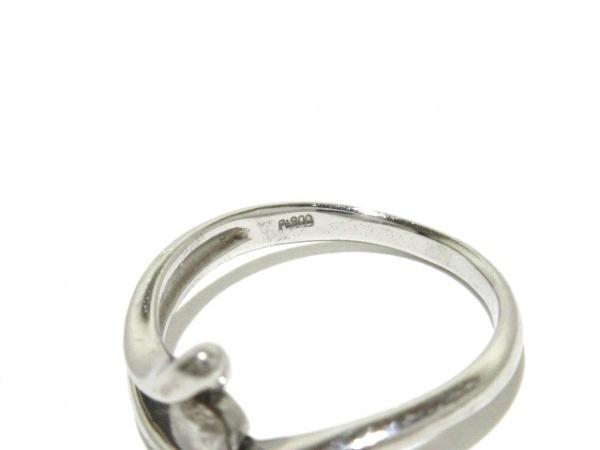 ノーブランド リング Pt900×ダイヤモンド 総重量:3.1g/015刻印 5