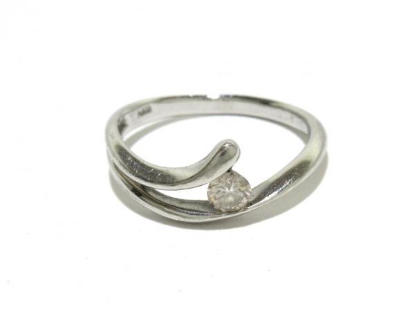 ノーブランド リング Pt900×ダイヤモンド 総重量:3.1g/015刻印 6