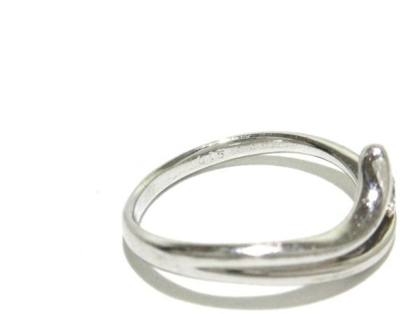 ノーブランド リング Pt900×ダイヤモンド 総重量:3.1g/015刻印 7