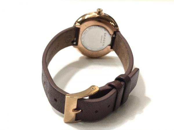 SKAGEN(スカーゲン) 腕時計 SKW2646 レディース ダークブラウン 3