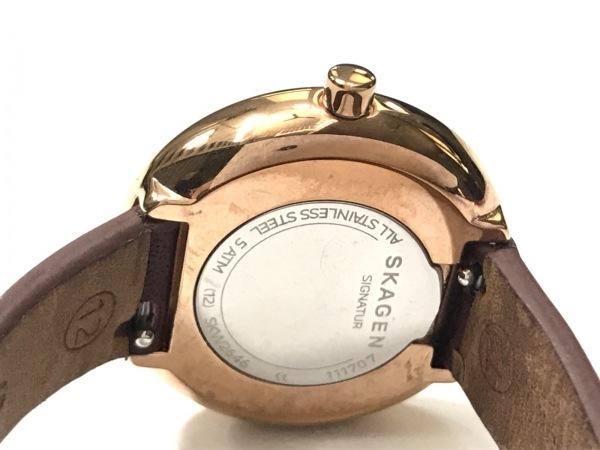 SKAGEN(スカーゲン) 腕時計 SKW2646 レディース ダークブラウン 4