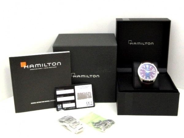 ハミルトン 腕時計 ブロードウェイ デイデイト H435150 メンズ 9