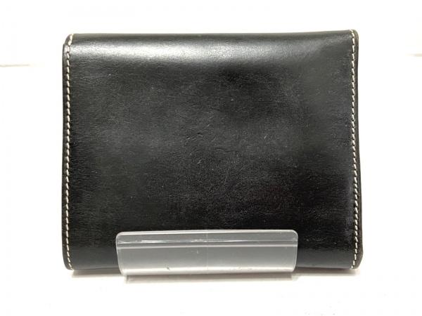 WhitehouseCox(ホワイトハウスコックス) 3つ折り財布 - 黒 レザー 2
