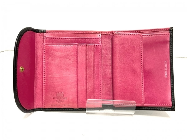 WhitehouseCox(ホワイトハウスコックス) 3つ折り財布 - 黒 レザー 3