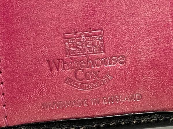 WhitehouseCox(ホワイトハウスコックス) 3つ折り財布 - 黒 レザー 5