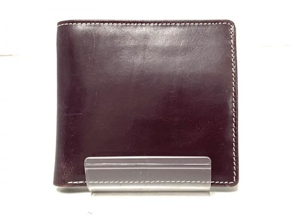 ホワイトハウスコックス 2つ折り財布 - ダークブラウン レザー 1