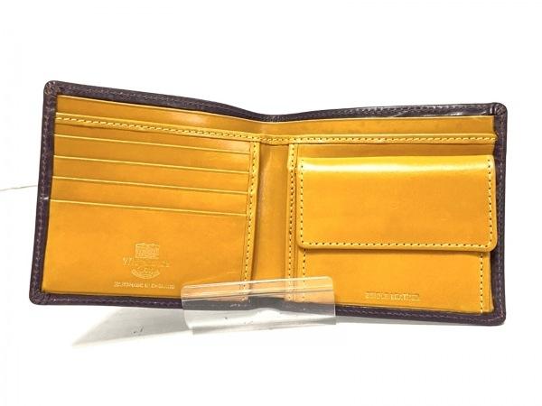 ホワイトハウスコックス 2つ折り財布 - ダークブラウン レザー 3
