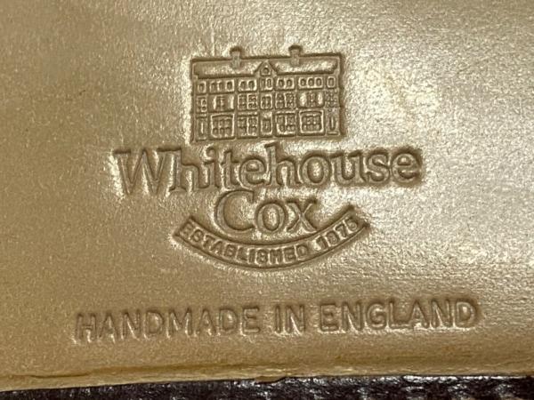 ホワイトハウスコックス 3つ折り財布 - ダークブラウン レザー 5