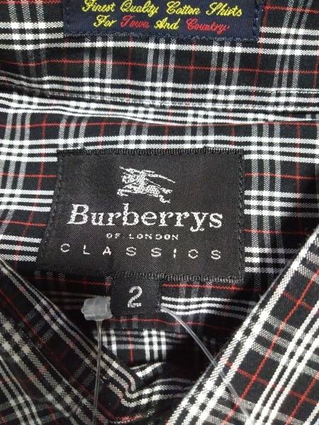 バーバリーズ 半袖シャツ サイズ2 M メンズ新品同様  - チェック柄 3