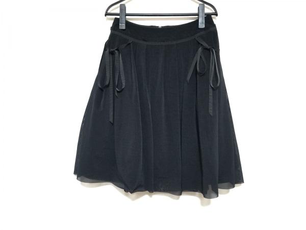 フォクシーニューヨーク スカート サイズ40 M レディース美品  黒 1