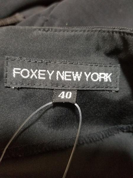 フォクシーニューヨーク スカート サイズ40 M レディース美品  黒 3