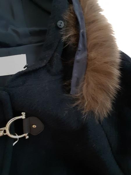 ローズティアラ コート サイズ46 XL レディース美品  ダークネイビー 6