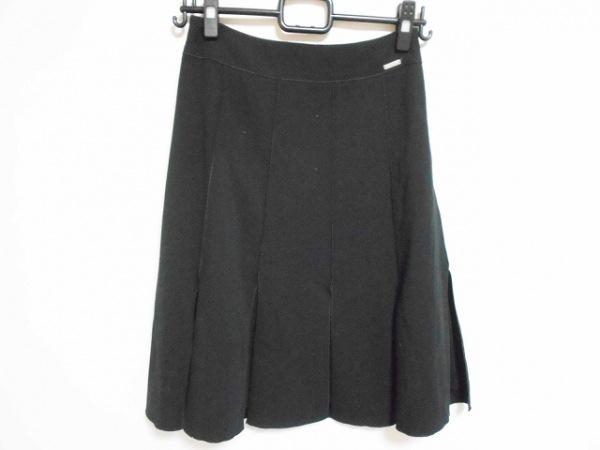フォクシー スカート サイズ38 M レディース美品  - 黒 ひざ丈 1