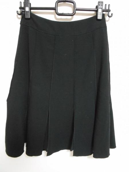 フォクシー スカート サイズ38 M レディース美品  - 黒 ひざ丈 2