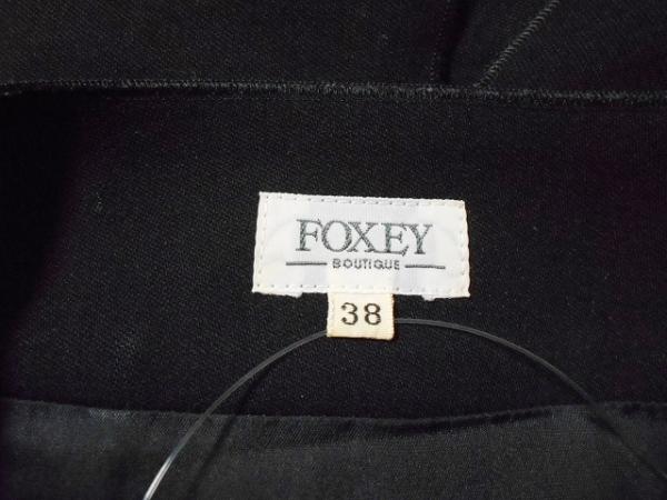 フォクシー スカート サイズ38 M レディース美品  - 黒 ひざ丈 3
