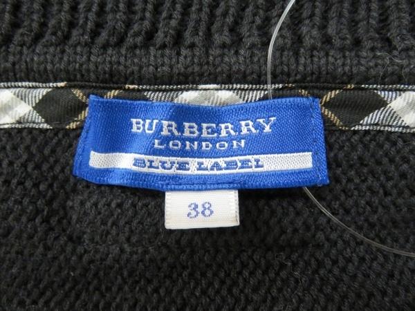 バーバリーブルーレーベル ボレロ サイズ38 M レディース 黒 3