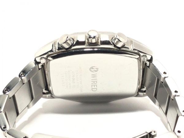 WIRED(ワイアード) 腕時計 - V176-0AJ0 メンズ クロノグラフ 4