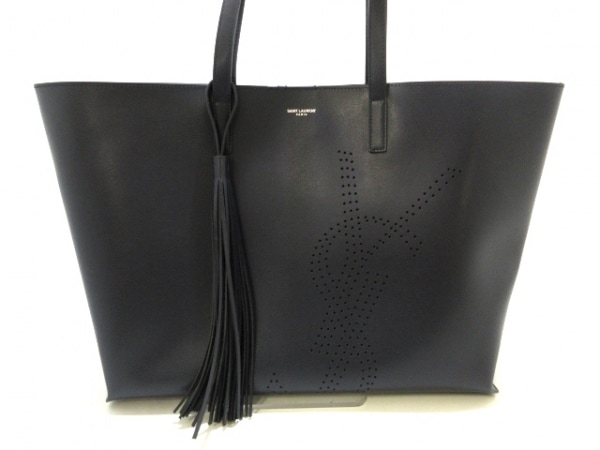 サンローランパリ トートバッグ美品  タッセル ショッピング バッグ 1