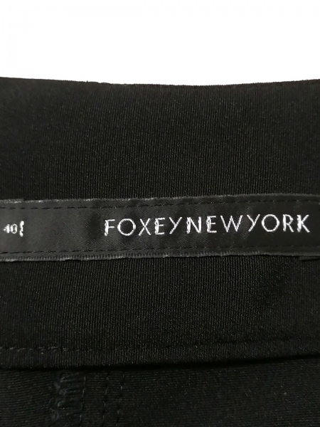 フォクシーニューヨーク ハーフパンツ サイズ40 M レディース - 黒 3