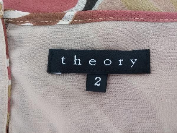 セオリー スカートセットアップ サイズ2 S レディース美品  - 花柄 3
