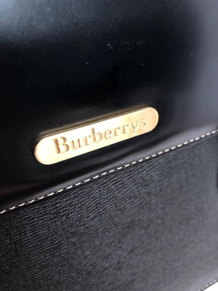 Burberry's(バーバリーズ) ハンドバッグ - 黒 レザー 8
