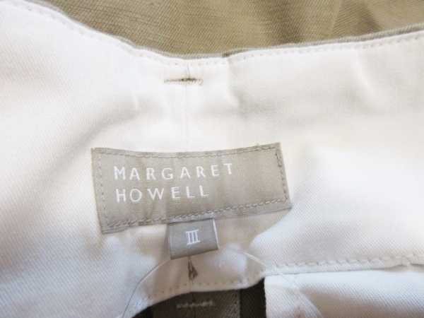 マーガレットハウエル パンツ サイズ3 L レディース美品 3