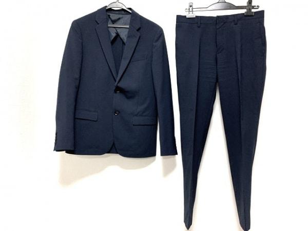 PLS+T(PLST)(プラステ) シングルスーツ サイズS メンズ ネイビー 1