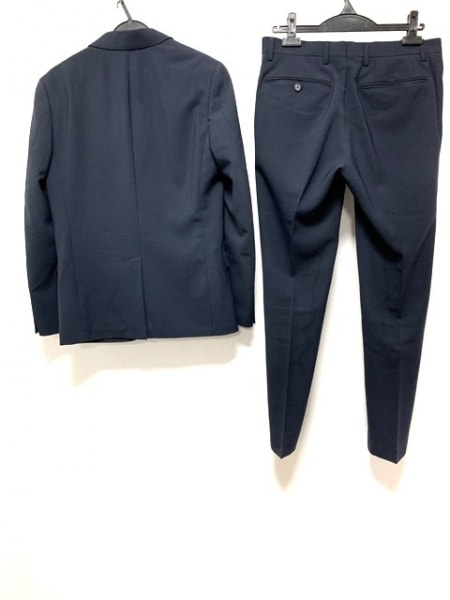 PLS+T(PLST)(プラステ) シングルスーツ サイズS メンズ ネイビー 2
