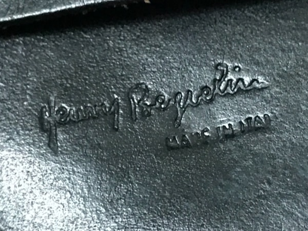 HENRY BEGUELIN(エンリーベグリン) 財布 黒 レザー 4