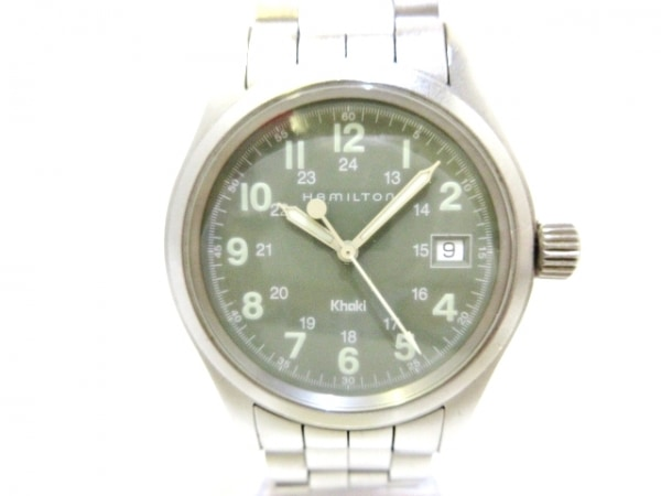 HAMILTON(ハミルトン) 腕時計 Khaki(カーキ) H684110 メンズ カーキ 1