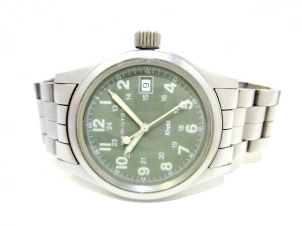 HAMILTON(ハミルトン) 腕時計 Khaki(カーキ) H684110 メンズ カーキ 2