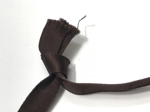 フォクシー チョーカー美品  - フェイクパール×化学繊維 リボン 4