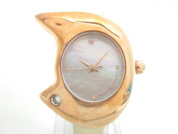 ツモリチサト 腕時計 VC01-D013 レディース シェルホワイト 1