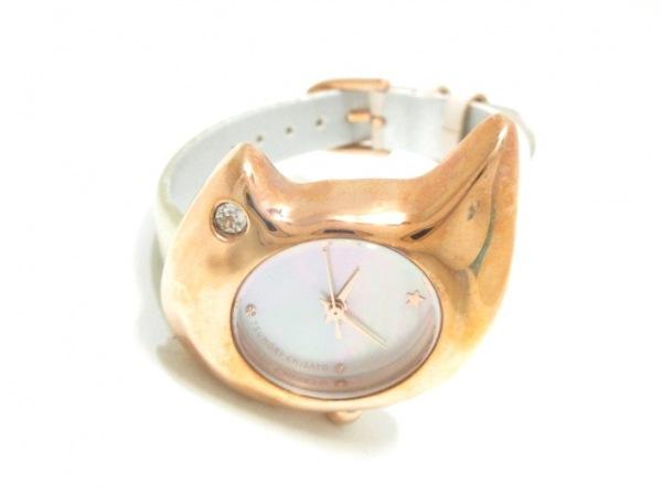 ツモリチサト 腕時計 VC01-D013 レディース シェルホワイト 2