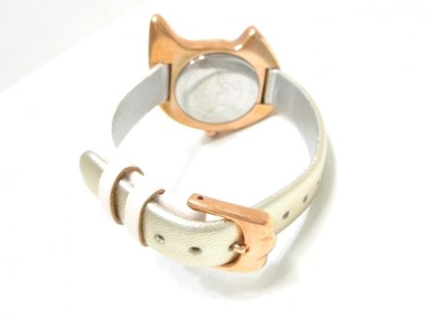 ツモリチサト 腕時計 VC01-D013 レディース シェルホワイト 3