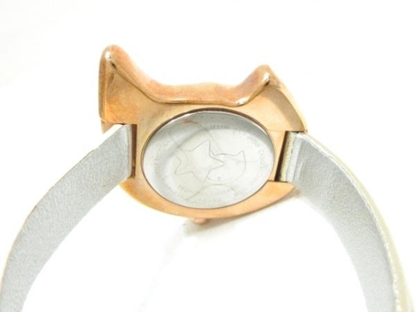 ツモリチサト 腕時計 VC01-D013 レディース シェルホワイト 4