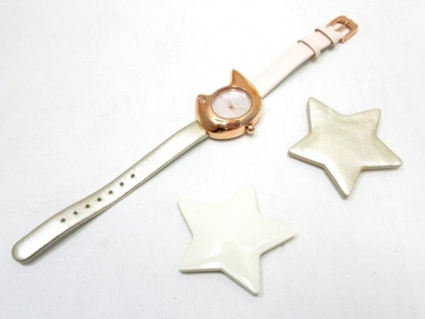 ツモリチサト 腕時計 VC01-D013 レディース シェルホワイト 7