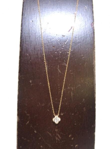 ヴァンドーム青山 ネックレス美品  K18PG×ダイヤモンド 5Pダイヤ 2