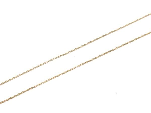 ヴァンドーム青山 ネックレス美品  K18PG×ダイヤモンド 5Pダイヤ 7