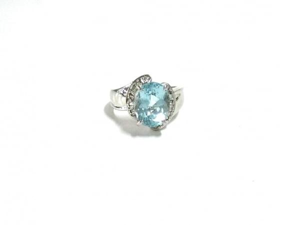 ノーブランド リング Pt900×ダイヤモンド×カラーストーン 1