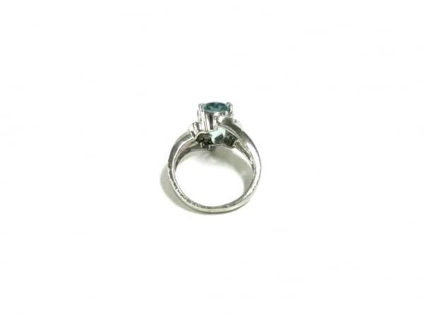 ノーブランド リング Pt900×ダイヤモンド×カラーストーン 4