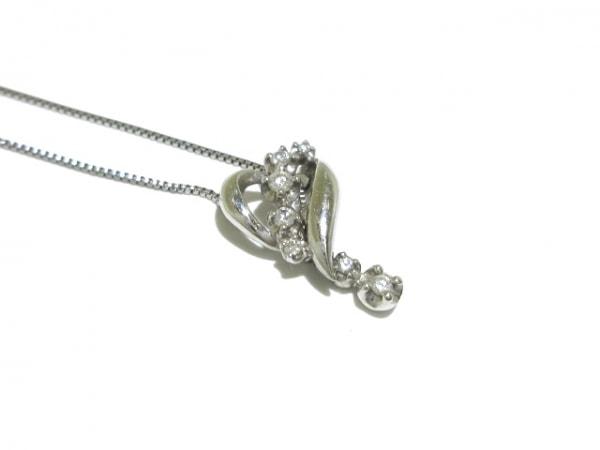 ヴァンドーム青山 ネックレス美品  Pt950×Pt850×ダイヤモンド 8