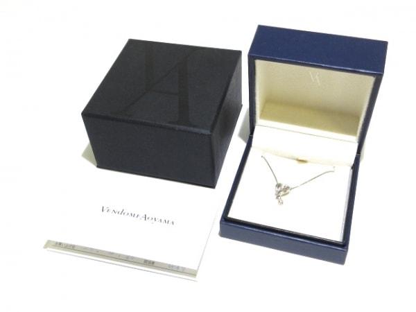 ヴァンドーム青山 ネックレス美品  Pt950×Pt850×ダイヤモンド 9